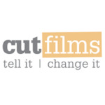 Logo for Cut Films (The Roy Castle Lung Foundation)