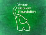 Logo for Green Elephant Foundation / Fundacja Zielony Slon