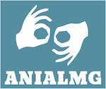 Logo for    National Association of Accredited Sign Language Interpreters (ANIALMG)