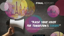 "Report for the forum ""Raise your voice for tomorrow's Europe"""