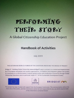 """Activities Handbook for Global Citizenship Education and Theatre (""""Performing their Story"""" Project)"""