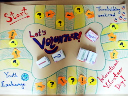 Board Game - Let´s Volunteer