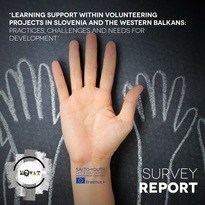Learning support within volunteering projects in Slovenia and the Western Balkans: practices, challenges and needs for development