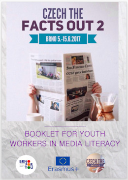 Booklet for youth workers in media literacy: Czech the Facts Out 2