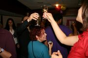 Cheers - thanx for celebrating with us