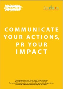 Communication and PR methods for promoting your NGO - brochure
