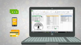 Excel template for managing budget and administrative things on Erasmus+ youth project