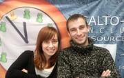SALTO Inclusion teamMarija Kljajic & Tony Geudens