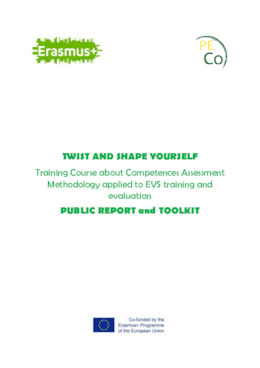 Twist and shape yourself: Competences assessment methodology applied to EVS training and evaluation